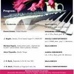 afis recital de pian aprilie 2017
