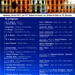 afis recital de muzică clasica mai 2017
