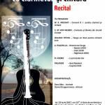 afis recital de muzică clasica iunie 2017