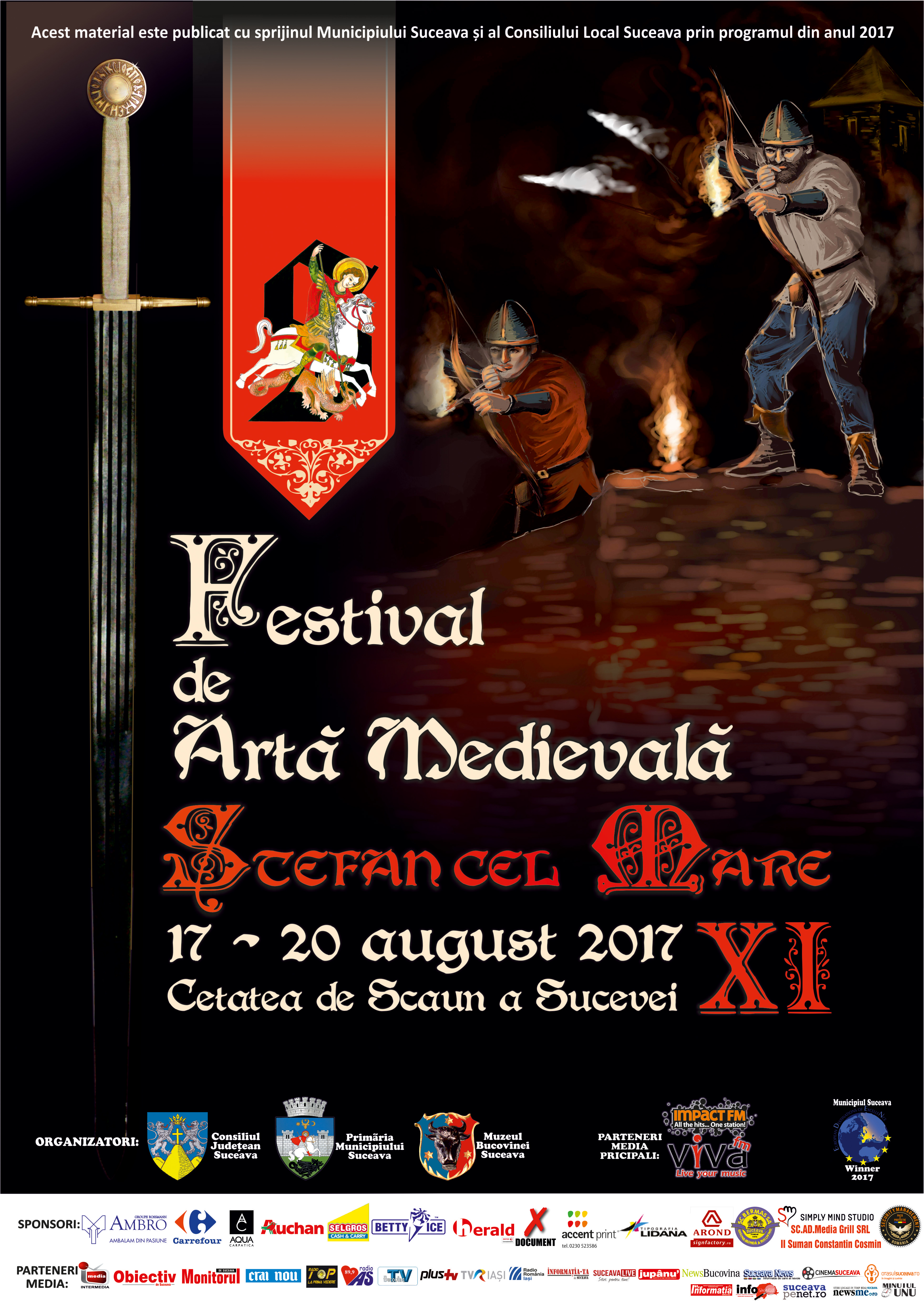 afis medieval final 2017 modificat 8 august 2017