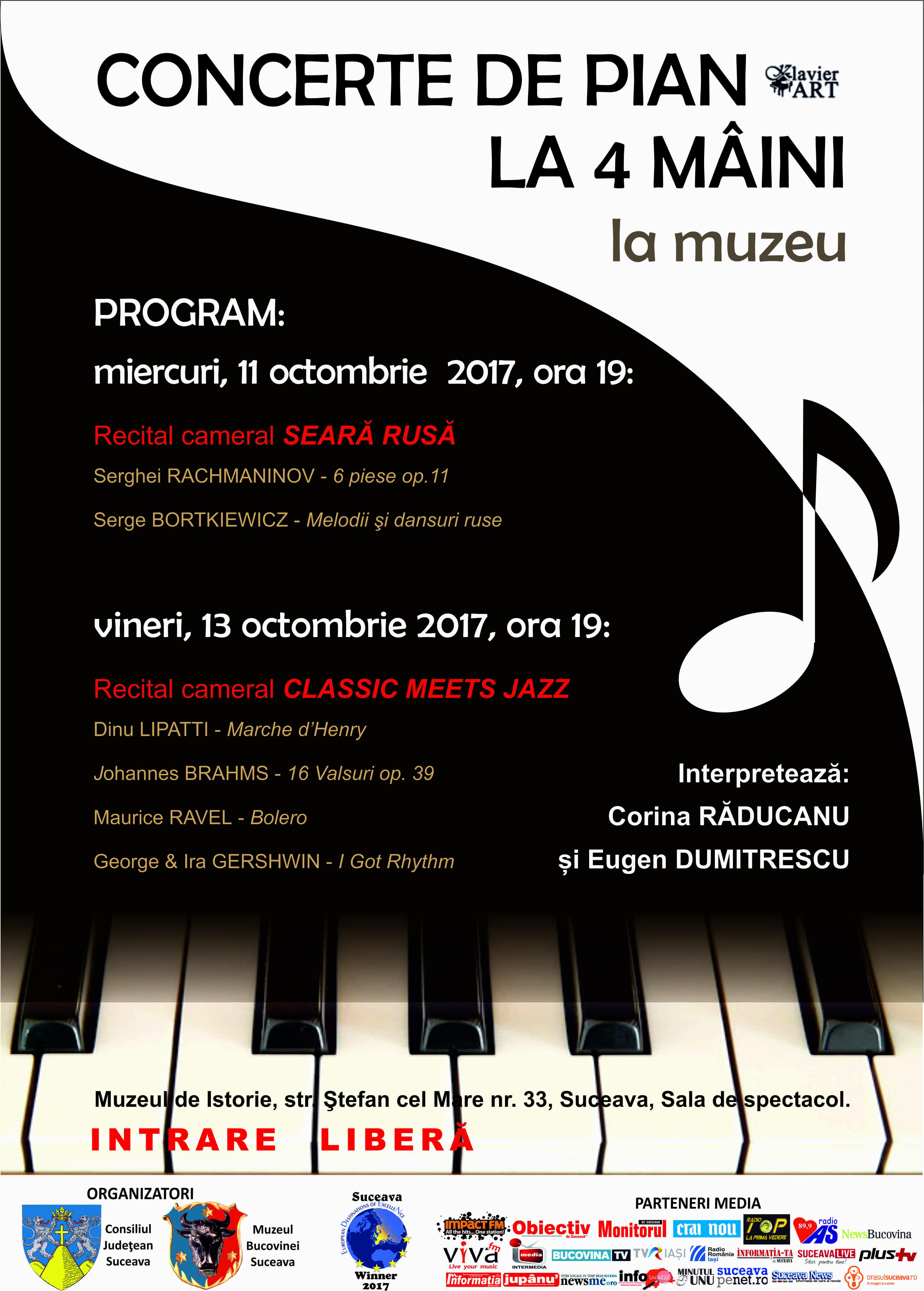 afis concert pian oct