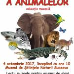 afis ziua animalelor 2017