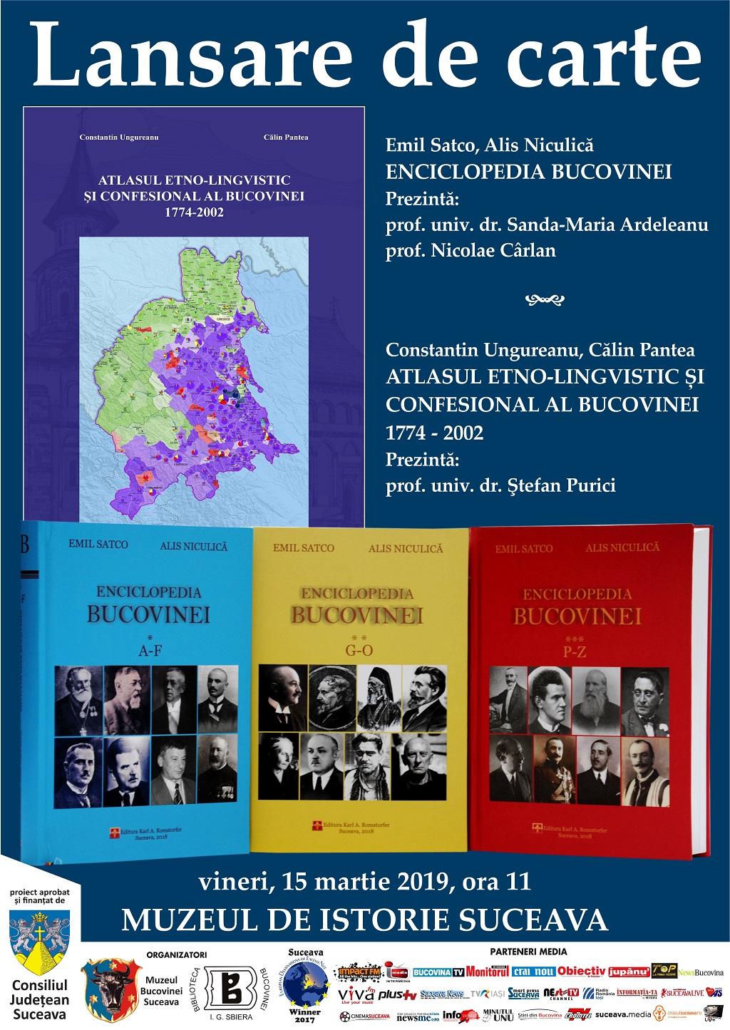 afis lansare enciclopedie