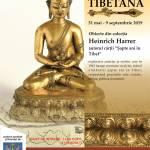 afis Arta tibetana-cu pret bilet