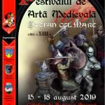 afis festival medieval 2019 cu sponsori