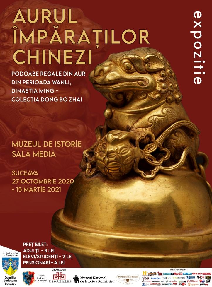 afis Aurul Împăraților Chinezi