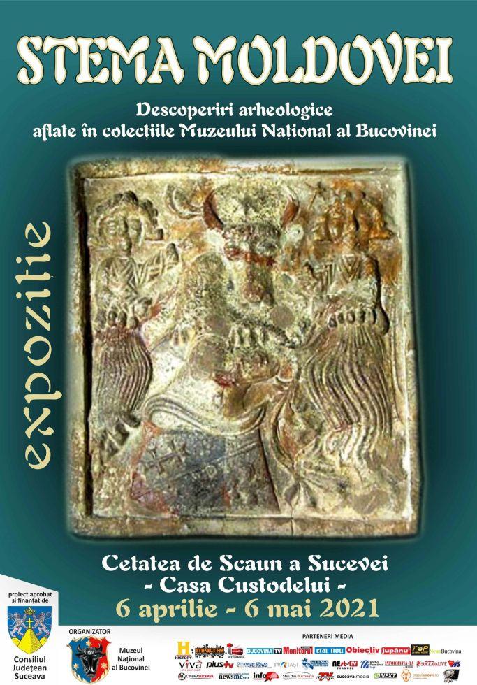 Stema Moldovei – Descoperiri arheologice aflate în colecțiile Muzeului Național al Bucovinei