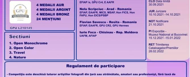 Regulament foto Romana 2021