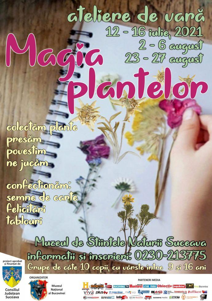 afiș magia plantelor