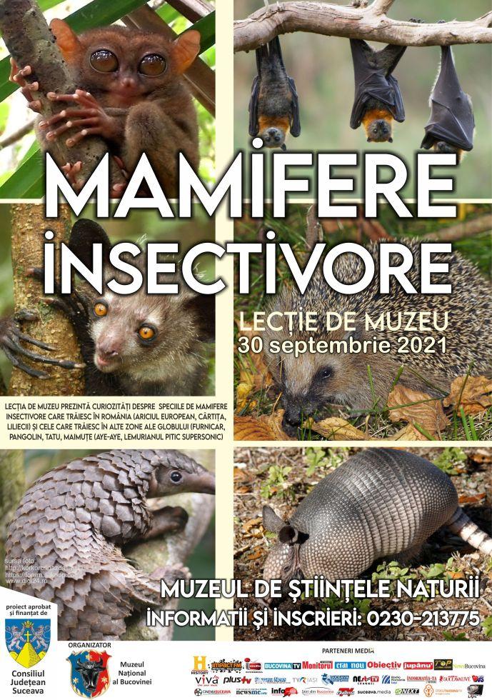 afiș mamifere insectivore (1)