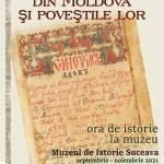 afis Cartile vechi din Moldova